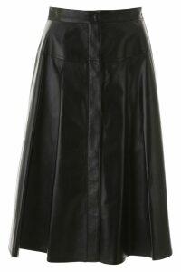 Marni Leather Skirt