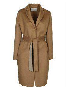 Fabiana Filippi Belted Knit Coat