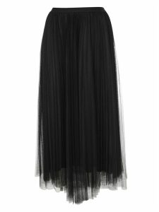 Fabiana Filippi Pleated Layered Skirt