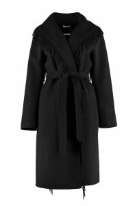 Parosh Belted Wool Cloth Coat