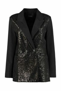Pinko Sequin Double Breasted Blazer