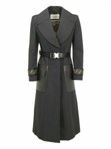 Fendi Faille Trench Coat