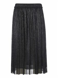 Isabel Marant Étoile Glittered Pleated Skirt