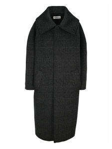 Balenciaga Incognito Prince Of Wales Checked Coat