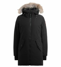 Parka Canada Goose Rosemont In Black With Non-removable Adjustable Hood