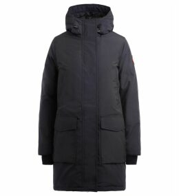 Parka Canada Goose Canmore Blue With Adjustable Hood