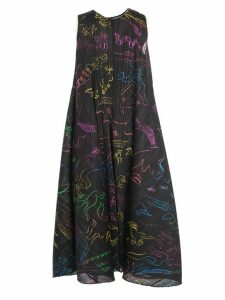 Pleats Please Issey Miyake Dress W/s Crew Neck In Her Dream