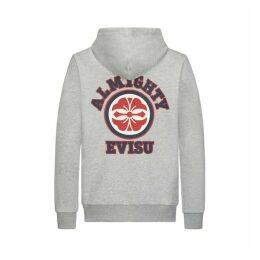 Evisu Hooded Sweatshirt With Kamon Print
