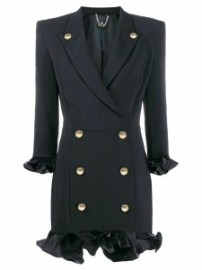 Elisabetta Franchi blazer-style mini dress - Black