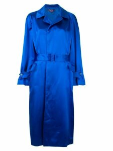 Ralph Lauren Collection belted trench coat - Blue