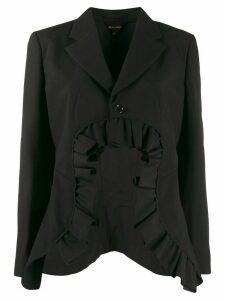 Comme Des Garçons cut-out blazer - Black
