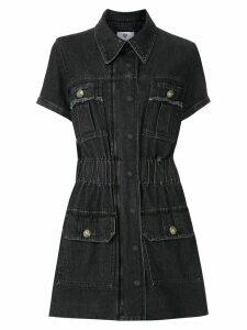 Andrea Bogosian Petrônia denim dress - Black