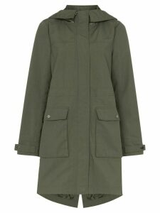 Sweaty Betty water resistant hooded parka - Green
