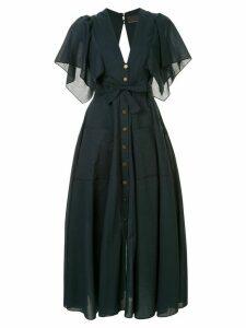 Ginger & Smart Everlasting V-neck dress - Blue