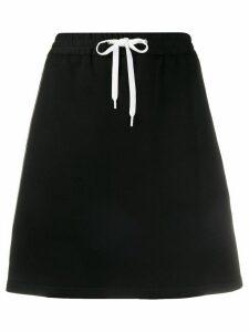 Miu Miu elasticated pencil skirt - Black