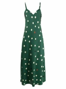 Chinti & Parker polka dot dress - Green