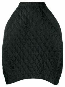 Comme Des Garçons quilted midi-skirt - Black