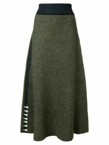 3.1 Phillip Lim Textured Skirt - Green