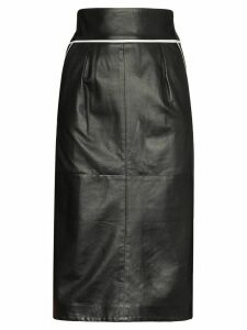 Skiim Vida contrast piping skirt - Black