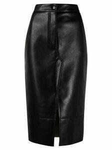 Brognano midi pencil skirt - Black