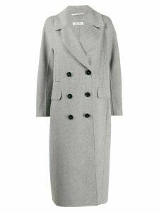 Max Mara long double-breasted coat - Grey