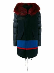 Mr & Mrs Italy Jazzy-fit down parka - Blue
