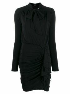 Michael Michael Kors gathered short dress - Black