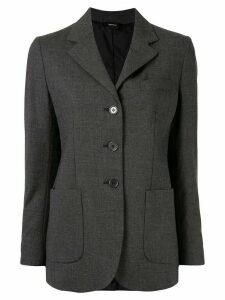 Aspesi fitted single-breasted blazer - Grey