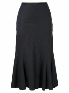 Aspesi high-waist midi skirt - Blue