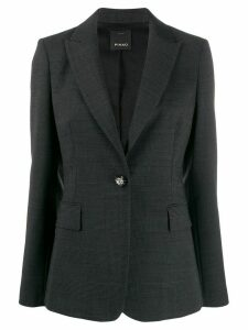 Pinko tailored checked blazer - Grey