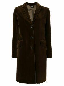 Aspesi fitted single-breasted coat - Green