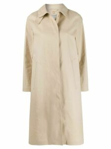 Mackintosh Dunkeld bonded coat - NEUTRALS