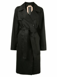 Nº21 double breasted trench coat - Black