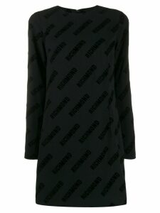 John Richmond Otis logo print dress - Black
