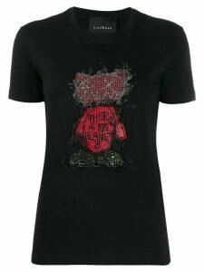 John Richmond Belize embellished T-shirt - Black