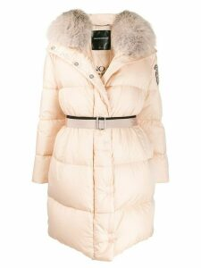 Ermanno Scervino hooded padded coat - Neutrals