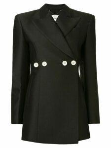 AKIRA NAKA button embellished blazer - Black
