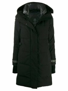 Canada Goose hooded parka coat - Black