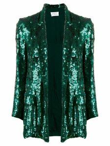 P.A.R.O.S.H. sequinned blazer - Green