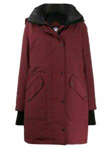 Canada Goose Ellesmere hooded parka coat - PURPLE