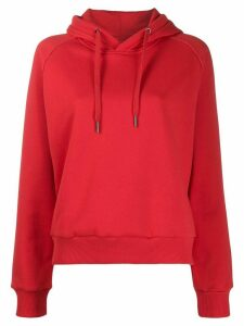 Fila solid-color hoodie - Red