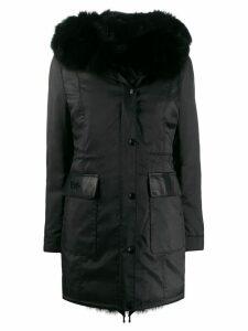 Philipp Plein padded parka coat - Black