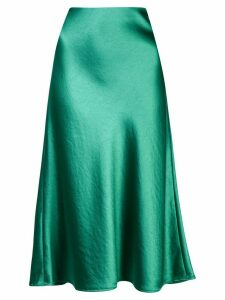 Milly midi shift skirt - Green