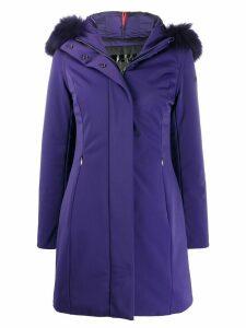 RRD mid-length parka coat - PURPLE