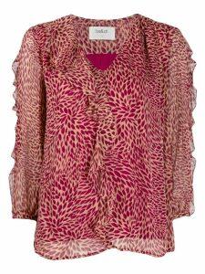 Ba & Sh ruffle shift blouse - PINK