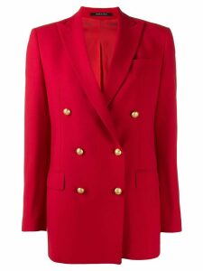Tagliatore Jasmine double breasted blazer - Red