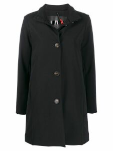 RRD single-breasted coat - Black