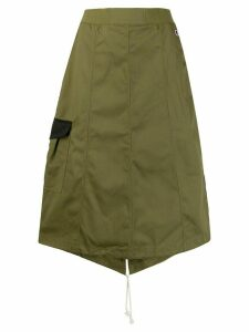 Champion A-line midi skirt - Green