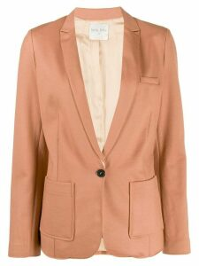 Forte Forte thin lapelled blazer - PINK
