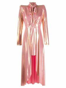 Aniye By metallic sheen asymmetric dress - PINK